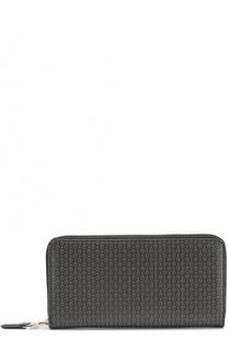Текстильное портмоне на молнии с отделениями для кредитных карт и монет Alexander McQueen