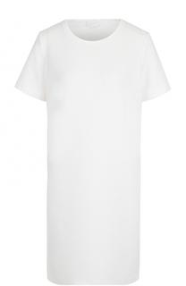 Мини-платье прямого кроя с круглым вырезом Escada Sport