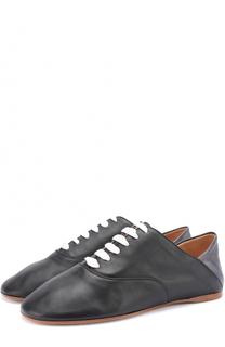Кожаные ботинки с мягким задником Acne Studios