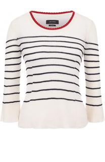 Пуловер в полоску с укороченным рукавом Isabel Marant