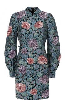 Мини-платье с декоративной отделкой и рукавом-фонарик Marc Jacobs