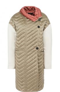 Шелковое стеганое пальто Isabel Marant