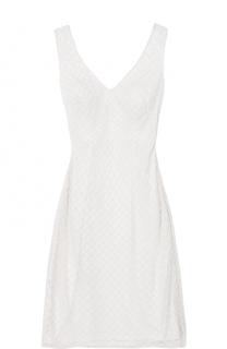 Приталенное платье с вышивкой бисером и V-образным вырезом Basix Black Label