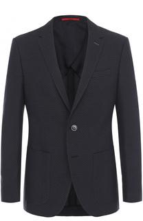 Однобортный приталенный пиджак HUGO