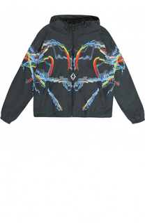 Ветровка с принтом Marcelo Burlon Kids of Milan