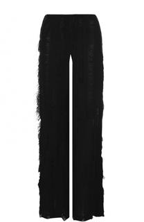 Расклешенные брюки с бахромой Walk of Shame