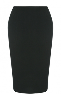 Юбка-карандаш фактурной вязки St. John