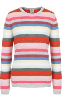 Кашемировый пуловер прямого кроя в полоску FTC