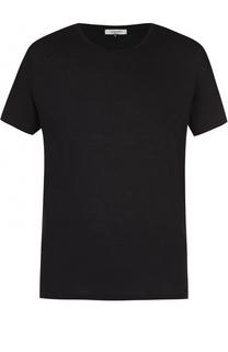 Хлопковая футболка с круглым вырезом Valentino