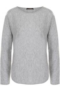 Пуловер прямого кроя с круглым вырезом Windsor