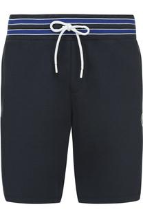 Хлопковые шорты с поясом на резинке Dirk Bikkembergs