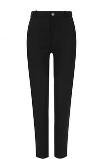 Укороченные брюки прямого кроя с карманами Balenciaga
