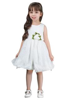 Платье без рукавов с украшением в виде цветка BOOM