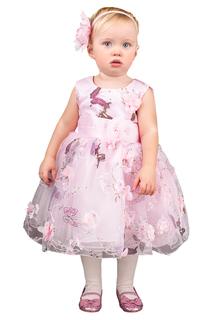 Платье с цветочным принтом и пышной юбкой BOOM