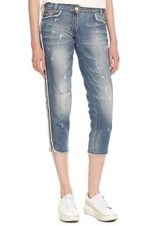 Бриджи джинсовые Just Cavalli