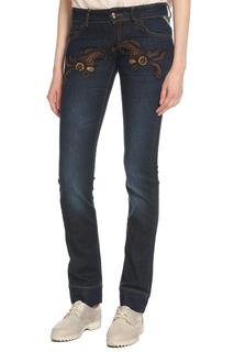 джинсы женские апликация Just Cavalli