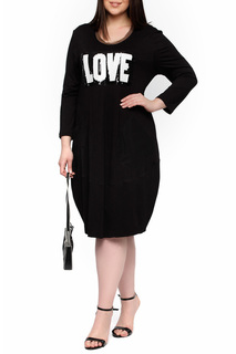 Платье-макси свободного покроя Leshar