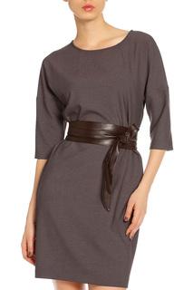 Платье с ремнем AFFARI