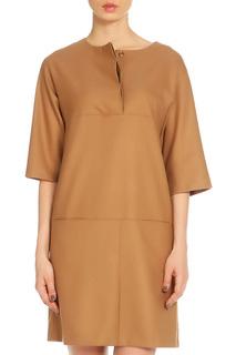 Платье с удлиненным рукавом AFFARI