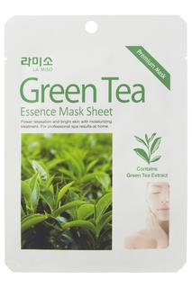 Маска с зеленым чаем, 5 шт LA MISO