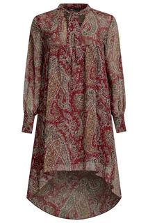 Легкое свободное платье oodji