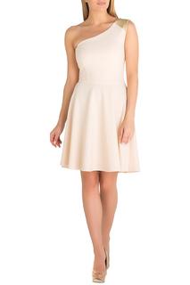 Короткое платье через одно плечо Eva Davidova