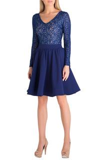 Короткое платье с кружевным верхом Eva Davidova