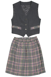 Комплект: жилет, юбка СМЕНА