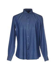Джинсовая рубашка Cerdelli