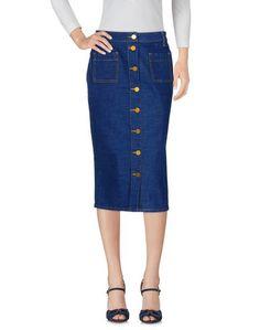 Джинсовая юбка Tory Burch