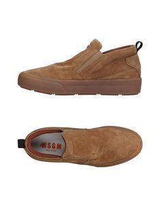 Высокие кеды и кроссовки Msgm