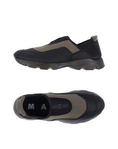 Низкие кеды и кроссовки Marni