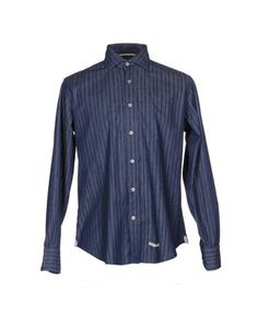 Джинсовая рубашка Tintoria Mattei 954