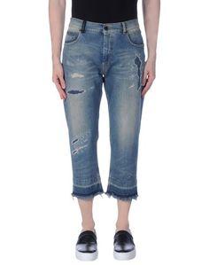 Джинсовые брюки-капри Marcelo Burlon