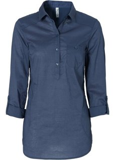 Длинная блузка (индиго) Bonprix