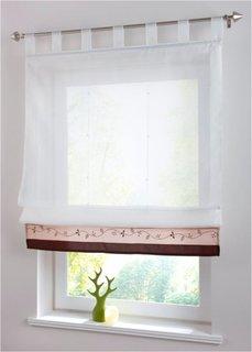 Римская штора Айлин, петли (коричневый) Bonprix