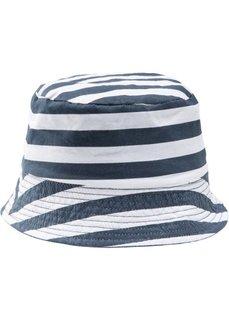 Двухсторонняя шляпа для мальчиков (синий/синий в белую полоску) Bonprix