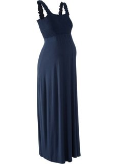 Мода для беременных: макси-платье (темно-синий) Bonprix