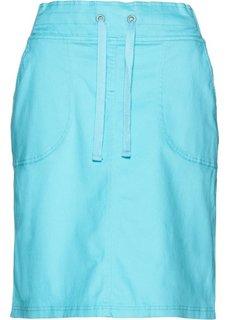 Эластичная юбка-карандаш (нежно-бирюзовый) Bonprix