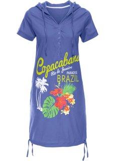 Пляжное платье (лилово-синий) Bonprix