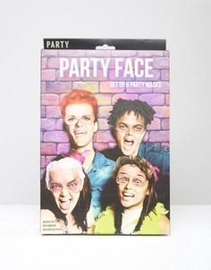 Набор из 6 масок для вечеринок - Мульти Gifts