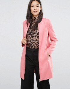 Розовое пальто Soaked in Luxury Katie - Розовый