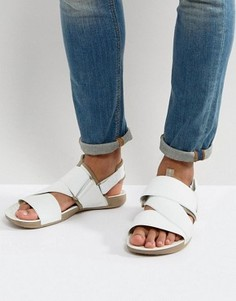 Белые сандалии Nike Air Solarsoft 579912-100 - Белый