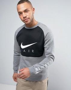 Серый свитшот Nike Air Hybrid 832150-092 - Серый