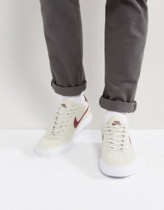 Бежевые замшевые кроссовки Nike SB Bruin Hyperfeel 831756-161 - Бежевый