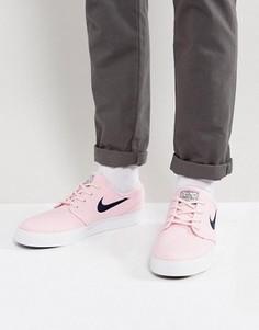 Розовые кроссовки Nike SB Pink Pack Janoski - Розовый