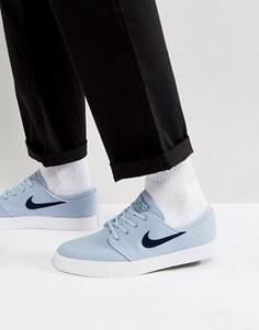 Серые парусиновые кроссовки Nike SB Zoom Stefan Janoski615957-440 - Серый