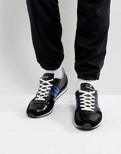Кроссовки с логотипом Versace Jeans - Черный