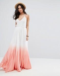 Платье макси с эффектом деграде Raga Fairy Dust - Розовый