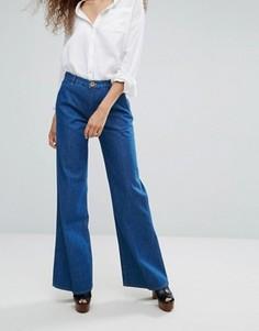 Расклешенные джинсы MiH Jeans - Синий